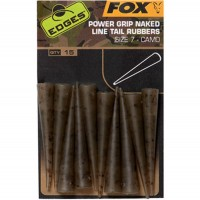 Conuri Antitangle FOX Power Grip Naked Line Tail Rubbers Camo (Nr.7), 10buc/plic