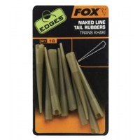 Conuri Antitangle FOX Naked Line Tail Rubbers, 10buc/plic