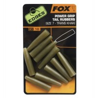 Conuri FOX Power Grip Tail Rubbers Nr.7, 10buc/plic