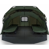 Cort NGT Fortress Hooded XL, 2 Persoane, 340x300x160cm