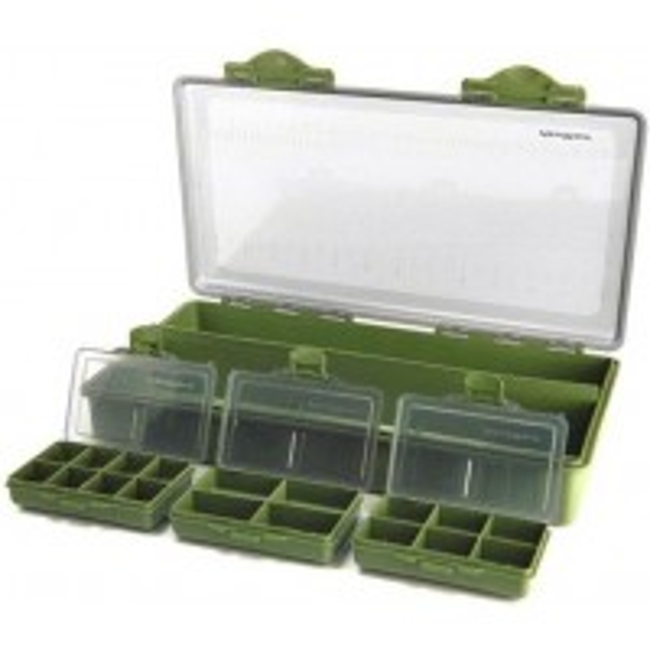 Cutie Multifunctionala Formax Feeder Box Large + 3 Cutii pentru Accesorii, 35x18x6cm