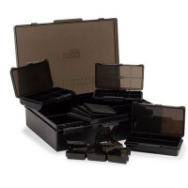Cutie pentru Accesorii Nash Tackle Box Loaded Medium, 25x17.2x55cm