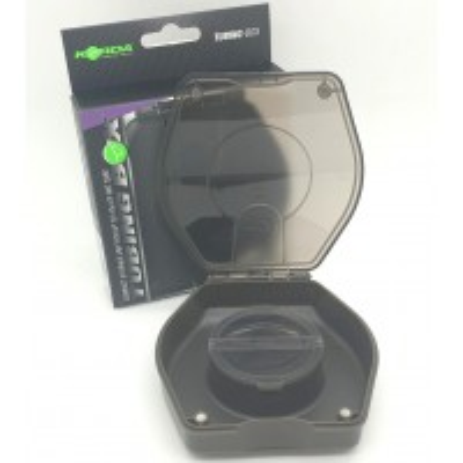 Cutie Varnisuri/Tuburi Antitangle Korda Compact Tubing Box, 9x9x2cm