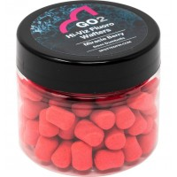 Dumbell Critic Echilibrat Spotted Fin Hi-Viz Fluoro Wafters, 10mm, 30g