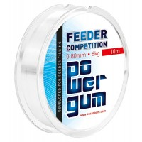 Elastic Carp Zoom Power Gum Feeder Competition, 10m