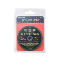 Fir Monofilament ESP Stiff Rig Filament, Transparent, 20m