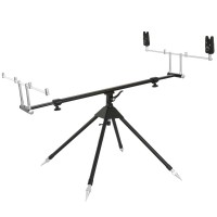 Kit Rod Pod Black Spider + 2 Avertizori 4 Posturi