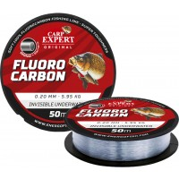 Fir Fluorocarbon Carp Expert Invisible, Transparent, 50m