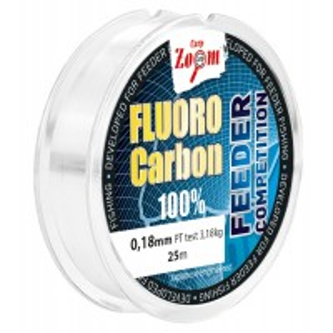 Fir Fluorocarbon Carp Zoom Leader Feeder Competition, 25m