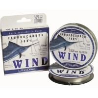 Fir Fluorocarbon Colmic Wind, Transparent, 50m