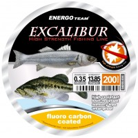 Fir Fluorocarbon Excalibur Sea, Transparent, 200m