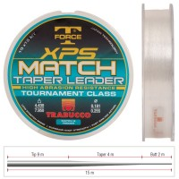 Fir Inaintas Conic Trabucco XPS Taper Leader, 10x15m