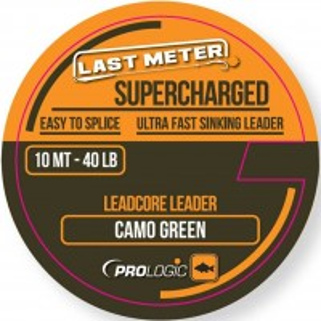 Fir Leadcore Prologic Supercharged, Camo Green, 10m