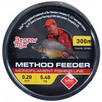 Fir Monofilament Benzar Method Feeder Mono Dark Green, Verde Inchis, 300m