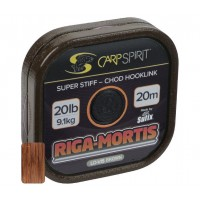 Fir Monofilament Monturi Carp Spirit Riga Mortis, Lo-Vis-Brown, 20m