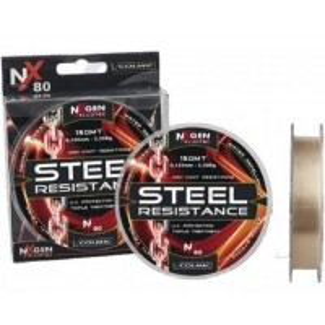 Fir Monofilament Colmic Steel Resistance NX80, 150m