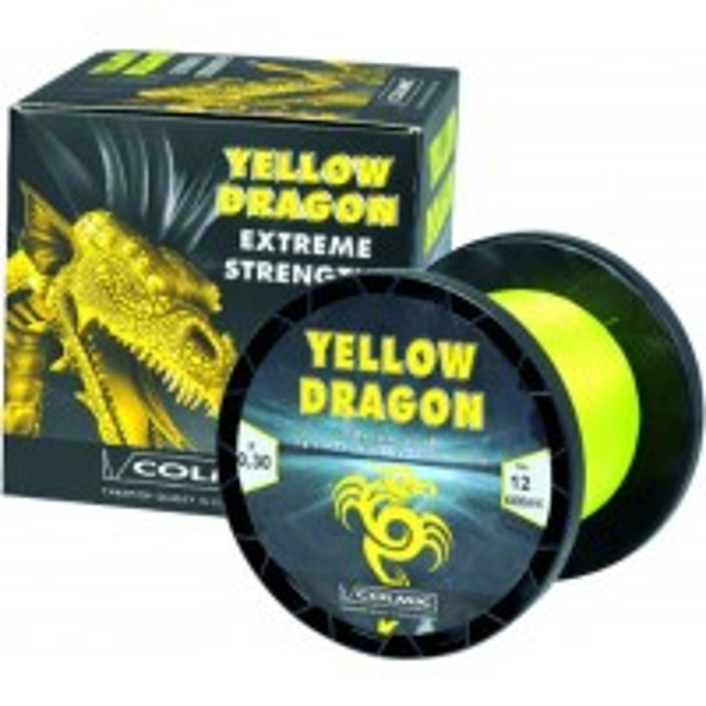 Fir Monofilament Colmic Yellow Dragon 600-800m