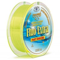 Fir Monofilament Cralusso Fluo Extra, Yellow, 1000m