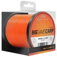 Fir Monofilament Delphin FIN BIG Game Carp, Orange Fluo, 1200m