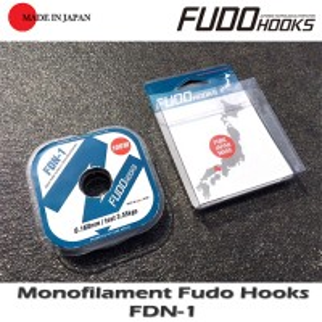 Fir Monofilament Fudo Hooks 100m