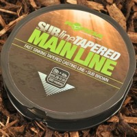 Fir Monofilament Conic Korda SUBline Tapered Mainline, Sub Brown, 300m/rola