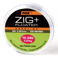 Fir Monofilament Monturi Fox Zig + Floater Hooklink, 100m