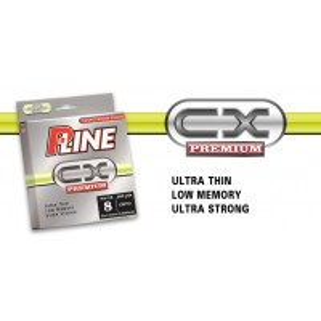 Fir Monofilament P-Line CX Premium, Hi-Vis Fluorescent Green, 270m