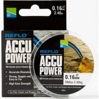 Fir Monofilament Preston Accu Power, Transparent, 100m