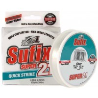 Fir Monofilament Sufix Super 21 Low Stretch, Clear, 300m