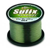 Fir Monofilament Sufix Synergy Carp, Trans Green, 1000m