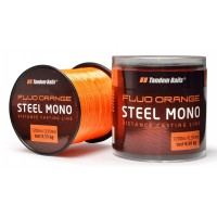 Fir Monofilament Tandem Baits Steel Mono, Fluo Orange, 1200m