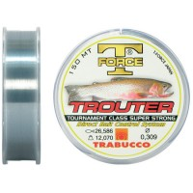 Fir Monofilament Trabucco Trouter 150m