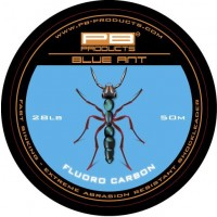 Fir Fluorocarbon PB Blue Anti Shockleader, 28lbs, 50m