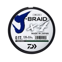 Fir Textil Daiwa J-Braid X4 135m Dark Green