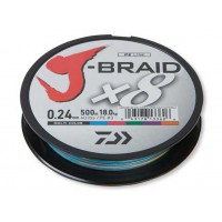 Fir Textil Daiwa J-Braid X8 Multicolor 150m