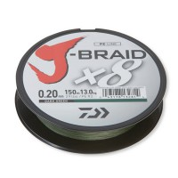 Fir Textil Daiwa J-Braid X8 Dark Green 150m