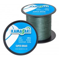 Fir Textil EnergoTeam Kamasaki Super Braid, Green, 1000m