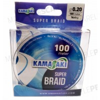 Fir Textil EnergoTeam Kamasaki Super Braid, Green, 100m
