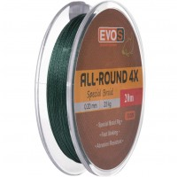 Fir Textil Evos All-Round 4X Special Braid, Verde, 20m