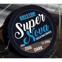 Fir Textil Kryston Super Nova Solid Bag Supple, Dark Silt, 20m