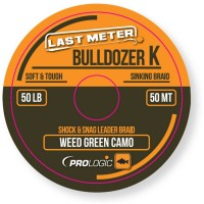 Fir Textil Prologic Bulldozer K FS Camo Green 50lbs 50m