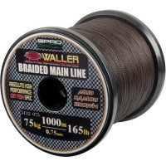 Fir Textil Spro Waller Main Line Braid, Maro, 1000m
