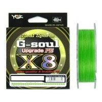 Fir Textil YGK Real Sport G-Soul Upgrade X8, Hi-Vis Lime Green, 200m