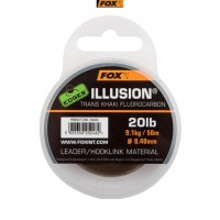 Fir Fluocarbon FOX Edges Illusion Leader, 50m