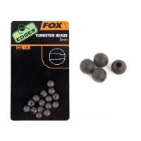 Fox Edges Tungsten Beads, 15buc/plic