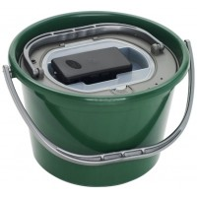 Galeata pentru Pestisori Vii Plastilys Live Bait Round Bucket + Air Pump Free, 13L