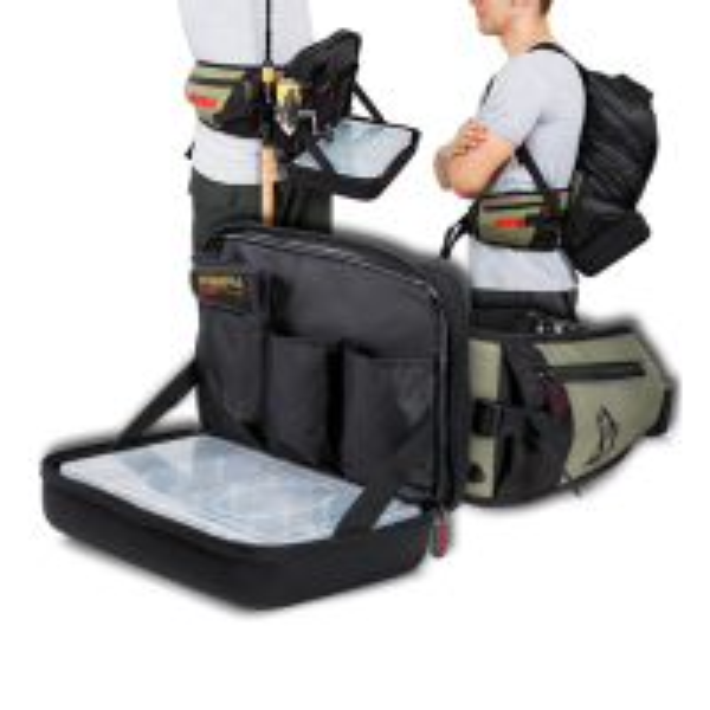 Geanta Rapala Limited Edition Hybrid Hip Pack, 31x22x13cm