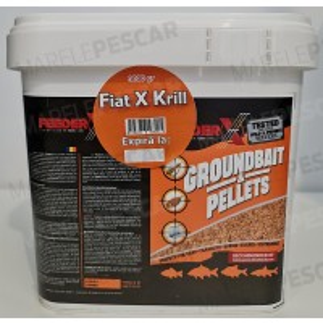 Groundbait&Pellets FeederX Fiat X Krill, 3kg