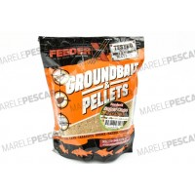 Groundbait FeederX Super Cage Caramel, 900g