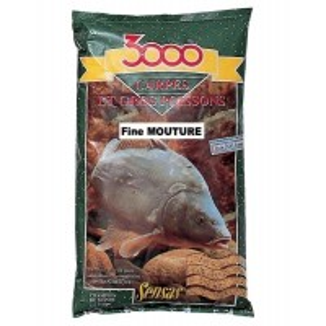 Groundbait Sensas 3000 Carpes et Gross Poissons, 1kg